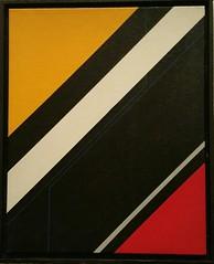 SEQUENZ 2  1984 (HolgerArt) Tags: konstruktivismus gemälde kunst art acryl painting malerei farben abstrakt modern grafisch konstruktiv