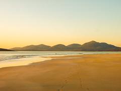Scotland sunset Beach Harris 1 (strangesimon) Tags: contrasts