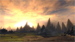 Star Wars The Old Republic (Josh Taylor Creative) Tags: starwars theoldrepublic ingame photography video game swtor screenshots videogamephotography virtualphotography ingamephotography videogamescreenshots gamephotography grass sky sunset mountain landscape art artwork sciencefiction scifi