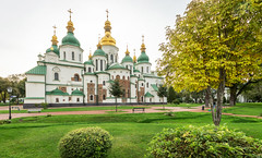 Sainte-Sophie de Kiev (Vincent Rowell) Tags: historical religious architecture stsophia'scathedral cathedral church ukraine2018 ukraine kiev sigma816mm hdr photoshopped raw