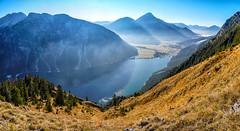 Blick vom Tauern auf den Heiterwangersee (stefangruber82) Tags: panorama alpen alps mountains berge tirol tyrol lake mountainlake see bergsee herbst fall