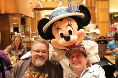 "Tracey and Scott with Minnie Mouse • <a style=""font-size:0.8em;"" href=""http://www.flickr.com/photos/28558260@N04/31108830847/"" target=""_blank"">View on Flickr</a>"