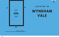 Lot 606, Principal Street, Wyndham Vale VIC