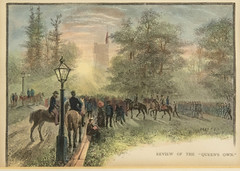2018-07-048-2 c1860 framed print of QOR at University College (L.G.Hicks Memorial Collection) Tags: 201807048 qor artifacts university toronto 1860