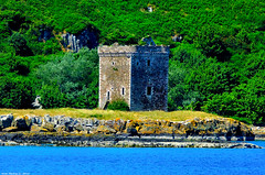 Scotland West Highlands Argyll a clan Montgomery castle on the island of Little Cumbrae 1 July 2018 by Anne MacKay (Anne MacKay images of interest & wonder) Tags: scotland west highlands argyll clan montgomery castle island little cumbrae 1 july 2018 picture by anne mackay