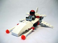 A-Tron s4 Scout Craft (awpulley) Tags: lego moc creation space scifi scout craft spaceship laser speeder fighter