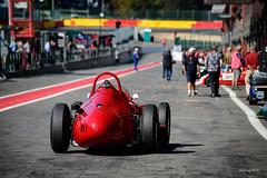 Standing apart (alexring) Tags: maserati maserati250f christiandumolin spafrancorchamps spasixhours belgium classic historic car race racetrack nikon d750 alexring