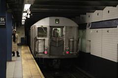 IMG_4175 (GojiMet86) Tags: mta ind nyc new york city subway train 1964 r32 3717 42nd street port authority bus terminal
