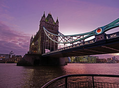 Tower Bridge Again (Matt C68) Tags: towerbridge bridge river thames riverthames evening london city panasonic lumix gx80 olympus 918mm