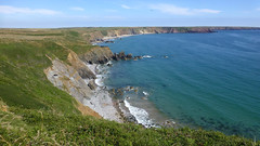 Pembrokeshire, Wales, UK (east med wanderer) Tags: wales uk pembrokeshire marloessands coast sea pembrokeshirecoastnationalpark nationalpark cliffs walking path