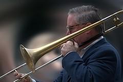 Trombone (Scott 97006) Tags: man guy male musician trombonist play music brass band entertainment slide