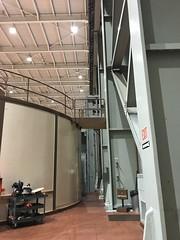 20181101_174613280_iOS (sano_rio) Tags: interior bracing turbine moment frames lights ceiling