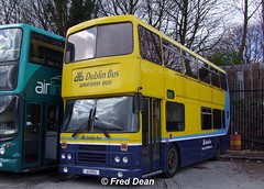 Dublin Bus RH52 (90D1052). (Fred Dean Jnr) Tags: dublinbus rh52 90d1052 broadstone dublin april2010 busathacliath leyland olympian alexander r uniformbus dublinbusyellowbluelivery