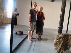 Double selfie (Hans & Liek) Tags: italy italië venice venetië biennale biennaledivenezia