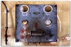 Électrodéprimogène hélicoïdal à double surcompensation (amont et aval), dit de Chombier (Avel-Breizh) Tags: rennes ruin urbex rust