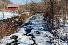 Hannacrois Creek (fotofish64) Tags: creek hannacroiscreek hannacroixcreek stream water flowingwater frozenriver frozen ice snow winter winterlandscape rural alcove coeymans albanycounty capitaldistrict newyork outdoor nature earthy pentax pentaxart kmount k70 hdpentaxda1685mmlens