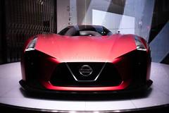 Nissan Concept 2020GT. (Akira.Tagawa_JPN)) Tags: car akira tagawa nissan gtr concept 2020 gt sport special japan tokyo アキラ タガワ show room ginza lensbaby burnside burnside35