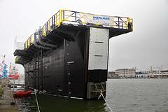Door boat Bateau-porte (Filamon44) Tags: saintnazaire bateau boat bateauporte josephparis lest ballast canon canoneos7d
