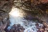Glass Beach Cave 1 (strjustin) Tags: glassbeach kauai hawaii cave