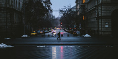 Evening sreets in Budapest (BenedekM) Tags: budapest hungary hungarian capital city architecture dark darkness lights people street streetphotography night nikon nikond3200 d3200 50mm nikkor50mmf18g