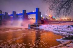 Polar Vortex LSAF Minneapolis, MN (Chad Davis.) Tags: polarvortex vortex lsaf stanthonyfalls lowerstanthonyfalls lock mississippiriver river cold longexposure nightphotography minneapolis winter minnesota downtown cityscape skyline downtownminneapolis frozen 2019winter ice