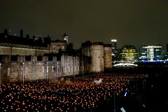Candle flames at the Tower of London....in explore 12 Nov 18
