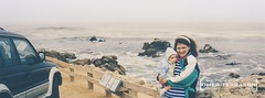Wife and Daughter - 338 (oterrason) Tags: wife daughter mother woman girl baby infant carmel california beach park montero mitsubishi monterosr ocean pacific coast sky clouds sea rocks westcoast northamerica carlzeiss contaxrtsii portrait beautiful pretty smile distagont35mmf28cy