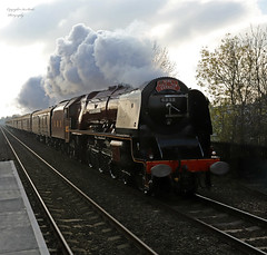 Dutchess of sutherland (Pikingpirate1) Tags: dutchessofsutherland steam train golden era