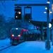 Early morning train