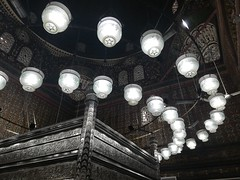 The Zarih of Husayn (Abdullah Taher) Tags: egypt egyptian mosque antiquities white rock travel building islamic image indoor interior history photo architecture africa architectural shot historical high cairo black bright night mobile phone photograph light zarih silver old