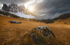 Relax (Selfie @ Villnoss) (Mathulak) Tags: dolomites mathulak relax villnoss mountains autumn italie tyrol