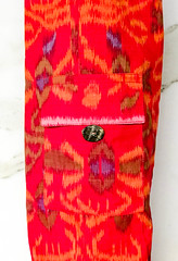 Pocket Bag Red Sun.jpg (KIZEN THE LABEL) Tags: matbag yogamatbag pocketbagredsun shellbutton yoga balisarong flyinghearts madewithlove pilates sarong kizen red