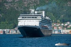 Rotterdam (Aviation & Maritime) Tags: rotterdam hollandamericaline hal cruiseship cruise bergen norway