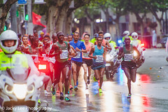 LD4_8718 (晴雨初霽) Tags: shanghai marathon race run sports photography photo nikon d4s dslr camera lens people china weekend november 2018 thousands city downtown town road street daytime rain staff