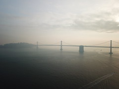 2018-11-20 13th day of Camp Fire's smoke in SF (wuster) Tags: sanfrancisco smokepocalypse pier 7 embarcadero