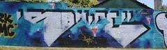 Graff; piscine St Marc à Brest (23/06/2018) (EricFromPlab) Tags: graff graffiti tag tags street art urban wall mural streetart bretagne finistère breizh brittany brest
