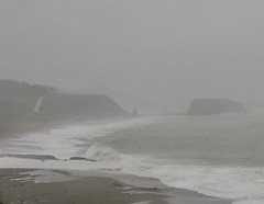 Waves rolling up (jinxmcc) Tags: russianriver pacificocean rivermouth lagoon jenner sonomacoast northerncalifornia