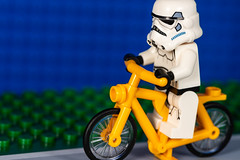 Balance (jeff's pixels) Tags: macromondays balance bike bicycle lego stormtrooper star wars minifigure toy funny macro nikon d850 nikkor 105mm