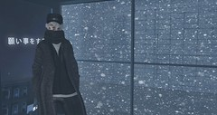 ʟᴀᴛᴇ (ѕєαи) Tags: snow sl secondlife bus hat coat dura gb