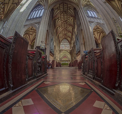 life is full of ups and downs knowing that your not around (Wizard CG) Tags: st mary redcliffe church bristol england uk hdr fisheye lens gothic architecture grade i listed building stained glass anglican parish epl7 ngc world trekker micro four thirds 43 aisle hall mosaic vault ceiling wood room people symmetry samyang wall