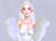 You taught me the courage of stars before you left (Sahris Yeun) Tags: white secondlife genus besom pumec vco mudksin yummy moon amore emarie wednesday