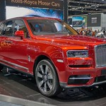 Rolls-Royce Cullinan luxury SUV at the 35th Thailand International Motor Expo at IMPACT Challenger Hall in Muang Thong Thani, Nonthaburi thumbnail