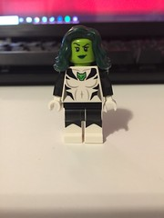 DC's Jade (Numbuh1Nerd) Tags: lego purist custom superheroes minifigures green lantern obsidian alan scott starheart justice league america society outsiders