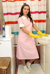 Chambermaid (dycken) Tags: chambermaid uniform usa