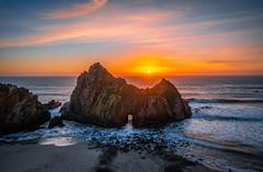 Sony A7R III Pfeiffer Beach Keyhole Rock Big Sur Winter Solstice Sea Cave Sunset! Fine Art California Coast Landscape Seascape Photography! Sony A7R3 & Sony FE 16-35mm f/2.8 GM G Master Lens! High Res 4k 8K! Elliot McGucken Fine Art Pacific Ocean Sunset! (45SURF Hero's Odyssey Mythology Landscapes & Godde) Tags: nikon d850 big sur sea cave sunset fine art california coast beach landscape seascape photography sony a7r iii fe 1635mm f28 gm g master lens high res 4k 8k elliot mcgucken pacific ocean