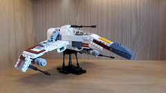 E-Wing - Build Update (Moppo!) Tags: star wars ewing new republic rebel alliance lego