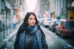 Contemplation (Pavel Valchev) Tags: hexanon konica portrait sofia bulgaria woman city town ar 50mm 14 wideopen bokeh hezanon a7rii fe ff sensor manual lens dof ilce sony