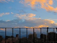Atardecer (acamilat) Tags: santiago chile paisaje nubes horizonte