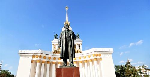 Vladimir Lenin en el Centro Panruso de Exposiciones - Moscú - Rusia