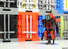 DRD-02 (Devid VII) Tags: devid devidvii moc drone darkred lego diorama scene containers postapoc apoc